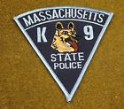 26119) Patch Massachusetts K-9 State Police Department Canine Insignia Sheriff