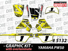 NEW GRAPHICS DECAL STICKER KIT PEEWEE PW50 PW 50CC 1981 to 2013 ALL YEARS 5132