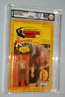 vintage Indiana Jones ROTLA GERMAN MECHANIC MOC AFA 80Y