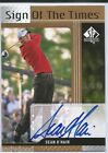 2012 SP AUTHENTIC SIGN OF THE TIMES SOTT SEAN O'HAIR AUTOGRAPH