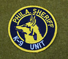 26941) Patch K-9 Unit Philadelphia Pennsylvania Sheriff Department Canine