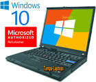 IBM LAPTOP LENOVO WINDOWS 10 WIN INTEL COMPUTER WIRELESS WIFI DVD NOTEBOOK PC