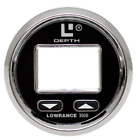 LOWRANCE 3500 SILVER BLACK BOAT REPLACEMENT DEPTH FISH FINDER FACEPLATE BEZEL