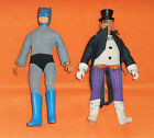 vintage Mego WORLDS GREATEST SUPER HEROES WGSH 8 BATMAN  PENGUIN LOT