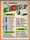1967-68 , TOPPS , HOCKEY CHECKLIST , CARD #120 , MARKED