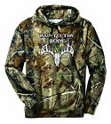 New Real Tree AP Russell Outdoors Camo Hoodie Sweatshirt Sizes S M L XL 2XL 3XL