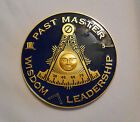 Masonic -  Past Masters Car Emblem