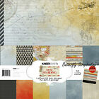 Borading Travel Collection 12X12 Scrapbooking Kit Kaisercraft Paper Crafting NEW