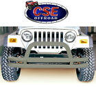 Front Tube Bumper With Riser for Jeep CJ YJ TJ 1976 2006 1156201 Rugged Ridge
