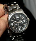 GUESS W15525G1 MEN'S STAINLESS WRISTWATCH PRE-OWNED