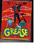 UNOPENED BOX GREASE COLLECTOR CARDS & STICKERS SERIES 2 1978 TOPPS JOHN TRAVOLTA