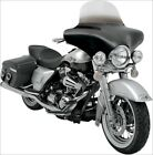 Memphis Shades Black Batwing Fairing for Harley Road King FL Softail Switchback