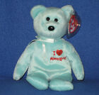 TY I LOVE MINNEAPOLIS the BEAR  BEANIE BABY -  MINT with  MINT TAGS