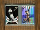 MICKEY MANTLE-2006 Finest Black X-fractor #22 25 & 2010 Topps Chrome Refractor