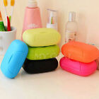 New Dish Plate Case Home Bathroom Shower Travel Hiking Holder Container Soap Box