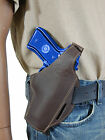 New Barsony Brown Leather Pancake Gun Holster for Taurus Full Size 9mm 40 45