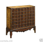 Map Cabinet Table Trunk Old World Nail Trim Hardwoods Classic New Free Shipping