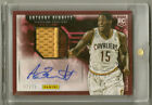 Anthony Bennett 2013-14 Panini NBA Finals Promo 2 color Patch RC Auto #'d 2 25