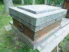 Metal Strongbox Treasure Chest Trunk Industrial Chic Style