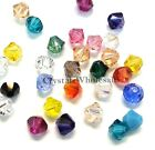 6mm Assorted Mixed Color Genuine Swarovski crystal 5328 XILION Bicone Beads