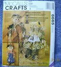 McCalls 1993 Pattern #6665 Friendly Scarecrows Hang or Sitting 27