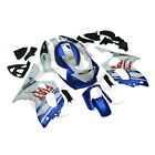 Blue White Hand made Bodywork ABS Fairing Set For Yamaha YZF600 YZF600R 97-07