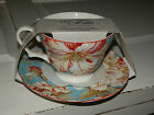 DISCOUNT - 222 Fifth PTS International Marley Teal Cup and Saucer Set