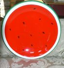 Pier 1 Imports X-Large Serving Platter Summer Barbecue Watermelon Party Plate