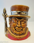 Vintage Lord Nelson  Potteries Beefeater Toby Mug  Excellent Condition