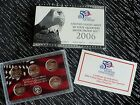 2006 UNITED STATES MINT 50 STATE QUARTERS 90% SILVER PROOF SET W/COA