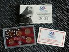 2004 UNITED STATES MINT 50 STATE QUARTERS 90% SILVER PROOF SET W/COA