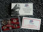 2008 UNITED STATES MINT 50 STATE QUARTERS 90% SILVER PROOF SET W/COA