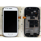 LCD + Touch Screen Glass Digitizer Frame For Samsung Galaxy S 3 III mini i8190