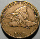 1857 Flying Eagle Cent! 14 Day Satisfaction Guarantee