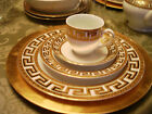ART DECO GREEK KEY  PORCELAIN CHINA  4 PLACE SETTING & EXTRAS   CZECH REPUBLIC