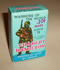 WARRIORS OF THE WORLD CHARLEY HAMILTON US COMBAT SOLDIER ORG BOX MARX 1960'S