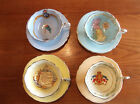 VERY RARE set of four PARAGON WWII Patriotic Cup and Saucer sets