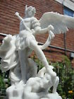 St. Michael Archangel Desktop Statue Sculpture Figure - SHIPS IMMEDIATELY