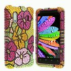 Bling Case for HTC EVO Design 4G ^BS2 Cover Skin Faceplate PC Snap on