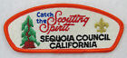 Sequoia Council 027 Fresno, CA SA-11 ($30-35) Catch the Scouting Spirit  [B0629]