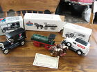 3 Vintage Amoco Die Cast Limited Edition Metal Banks