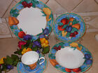 CASUAL VICTORIA BEALE FORBIDDEN FRUIT DINNER SET 5 CUP SAUCER BOWL SALAD PLATE