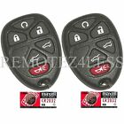 2 New Replacement Keyless Entry Remote Fob for 15913427 + 2 Extra Batteries