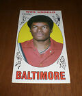 1969 - 70 BALTIMORE BULLETS WES UNSELD ROOKIE TOPPS BASKETBALL CARD