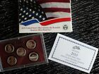 2010 UNITED STATES MINT AMERICA THE BEAUTIFUL QUARTERS 90% SILVER PROOF SET/COA
