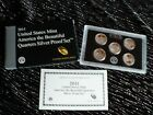 2011 UNITED STATES MINT AMERICA THE BEAUTIFUL QUARTERS SILVER PROOF SET