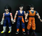 LOT 3 1989 Giochi Preziosi DragonBall Z DBZ ACTION FIGURES GOKU GOHAN VEGETA L9