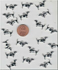 LOT OF 20 METAL SILVER TONE WIENER DOG DACHSHUND CHARMS C 11 US SELLER