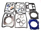 Harley Evo 1340 BIG BORE Upper/Top End Gasket Set w/Teflon+Carbon Head 84-99
