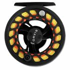Orvis Encounter Large Arbor II Fly Reel Disc Drag Black New for 4 6 Weight